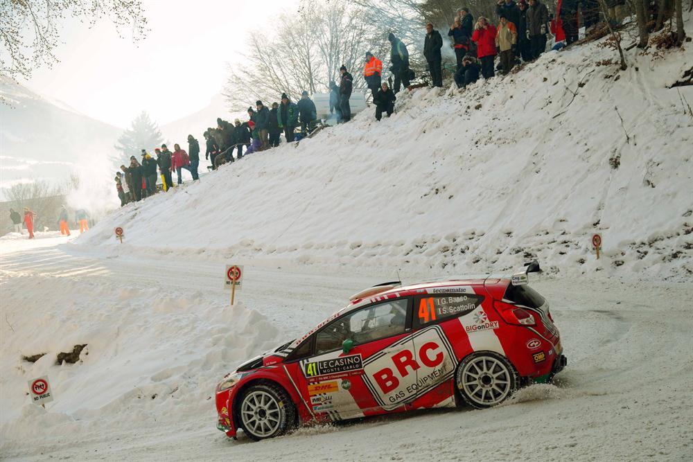 WRC2 Rally Montecarlo 2017 - Giandomenico Basso