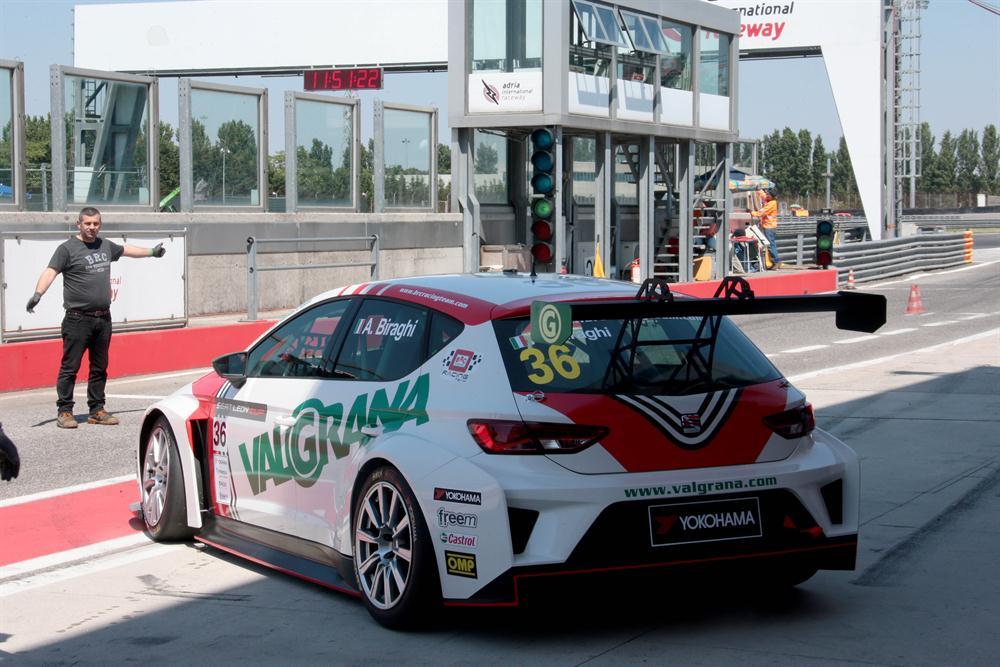 Adria International Raceway - 1° tappa CIT 2016 - Seat Leon Cup