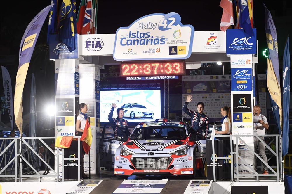 ERC - 42° Rally Islas Canarias