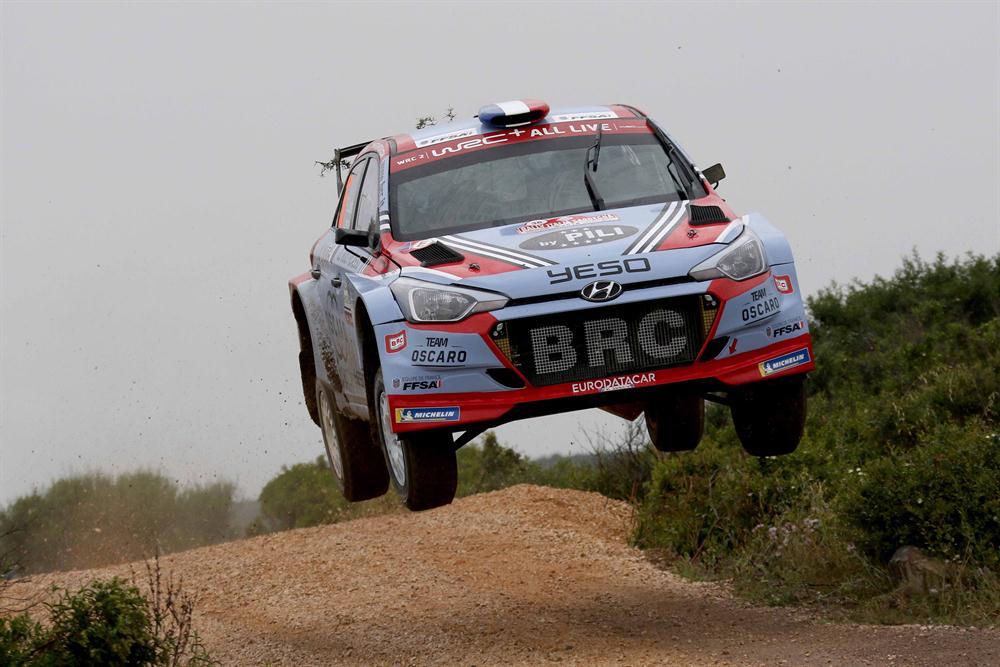 WRC2 Sardinia
