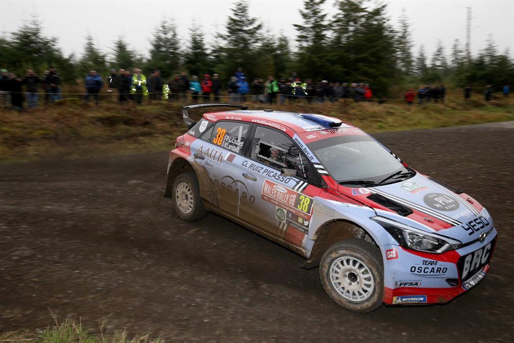 WRC2 Rally Wales