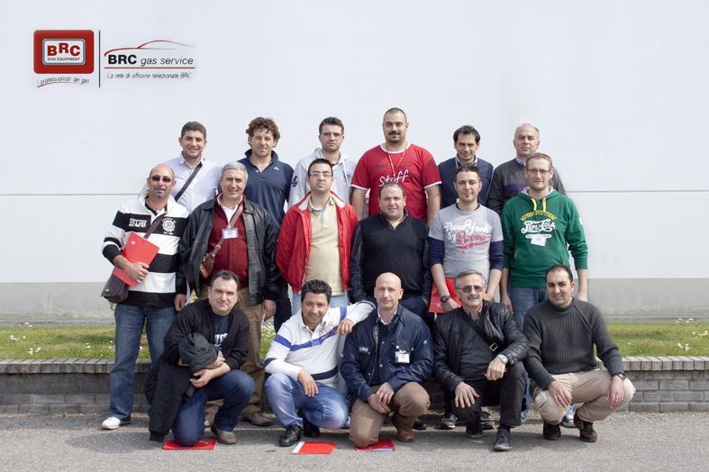 Corsi BRC Gas Service 2011
