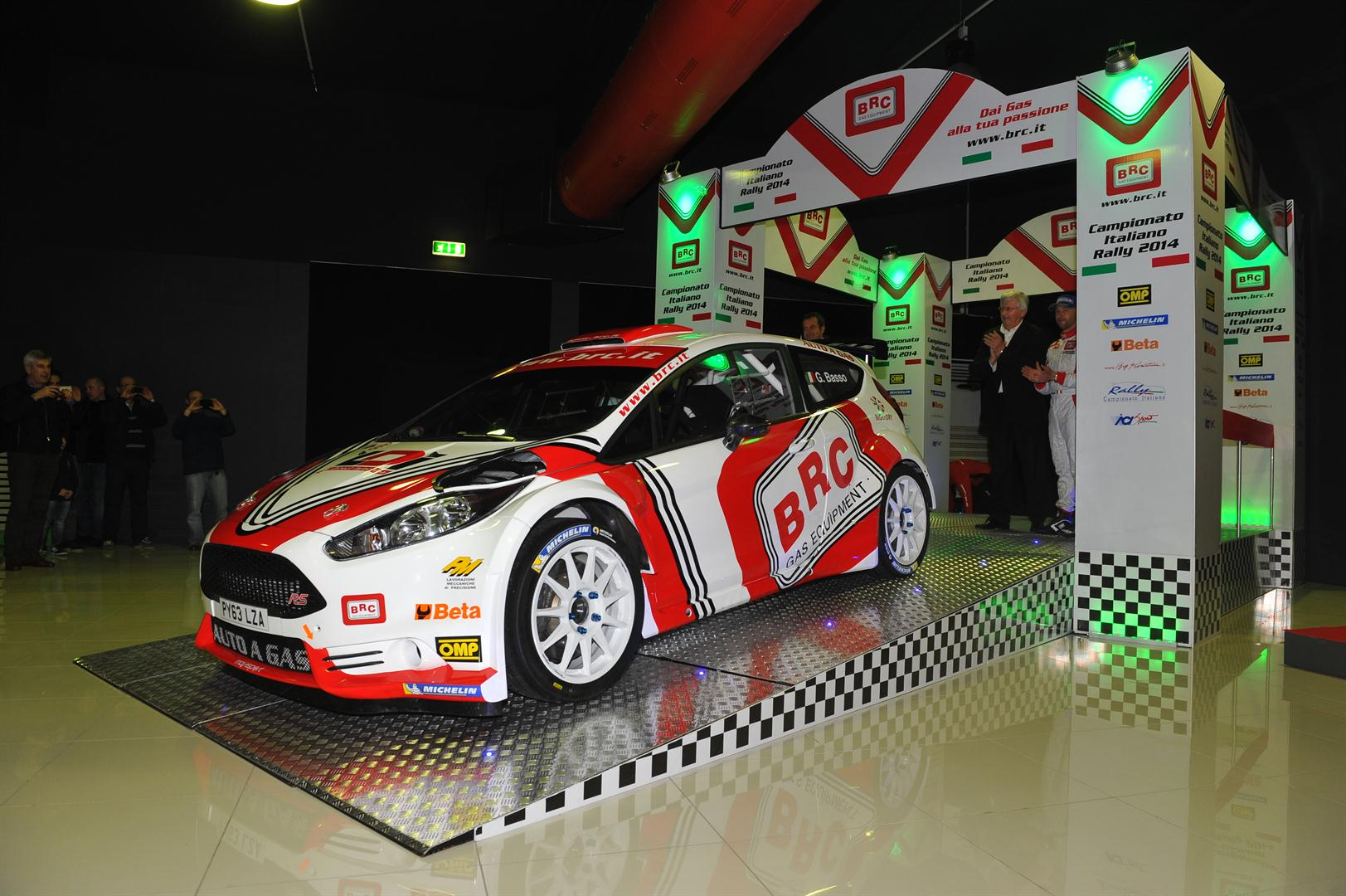 Presentation Ford Fiesta R5 - BRC powered by LPG