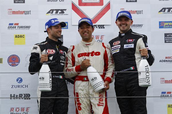 Nurburgring: successo per il guest Facchinetti