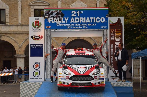 Al 21 Rally Adriatico BRC conquista il sesto podio su sette gare disputate