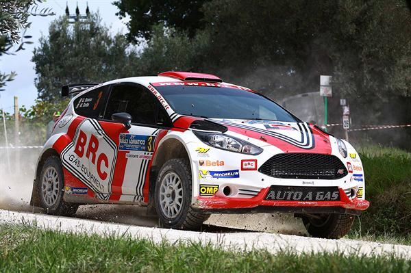 BRC e Giandomenico Basso in lotta per il titolo al Rally 2 Valli