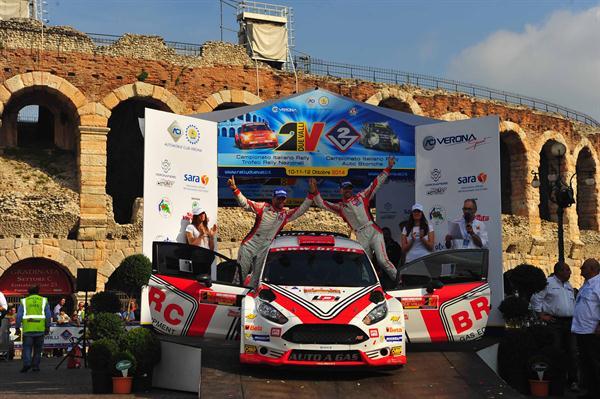 BRC chiude un'ottima stagione nel Campionato Italiano Rally 2014