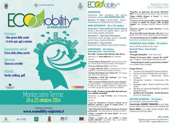 BRC ad Ecomobility 2014 - Montecatini Terme (PT), 24/25 ottobre