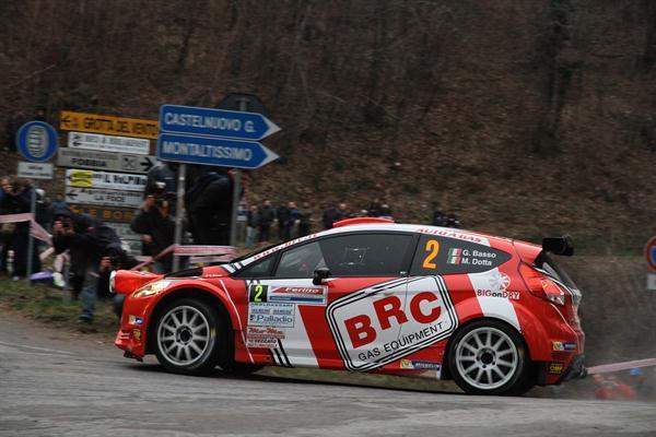 Rally del Ciocco 2015, finale amaro per BRC Gas Equipment