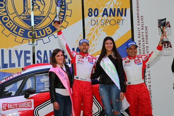 BRC ai vertici del 62° Rally di Sanremo