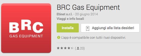 Aggiornamenti App BRC