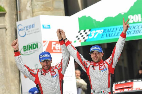 Basso e Dotta al Via del 42° Rally di San Marino