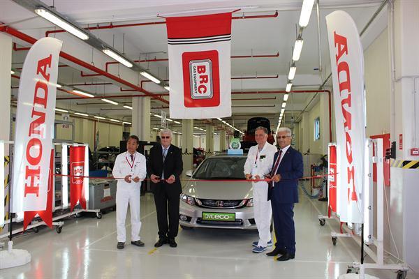 Honda Turchia inizia la conversione dei modelli Civic  nei propri stabilimenti con kit BRC