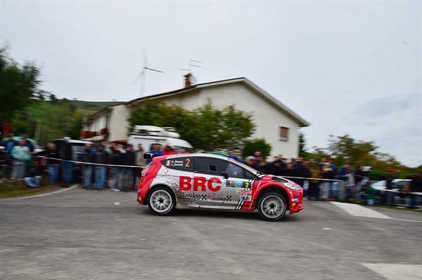 Al Rally 2 Valli BRC centra l'obiettivo del secondo posto finale in Campionato con una gara veloce e consistente