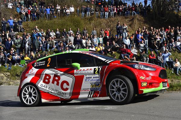 Basso Granai al secondo posto di gara 1 del Rally del Ciocco.