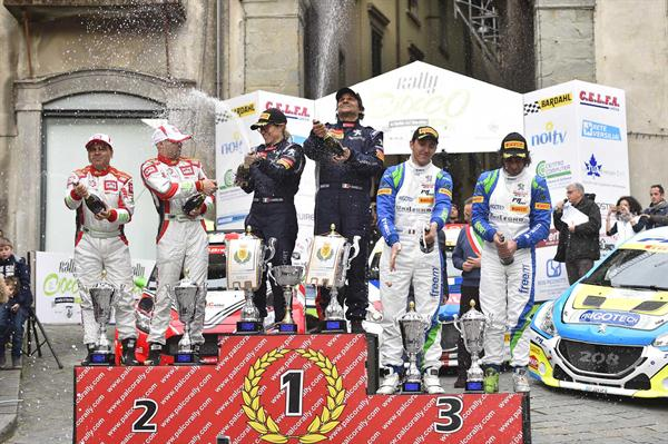 Per BRC un ottimo secondo posto al 39° Rally del Ciocco