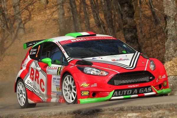 Il 63° Rallye di Sanremo si tinge di Rosso BRC