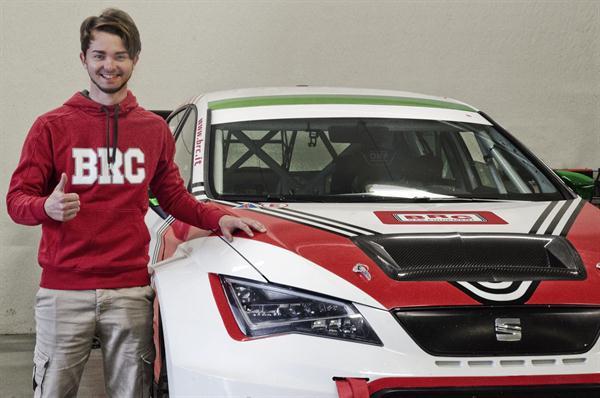 Alberto Viberti sceglie BRC Racing Team per l'assalto al CIT 2016