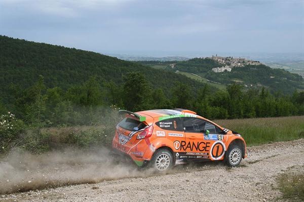 Campedelli porta la Fiesta GPL di BRC al secondo posto dell'Adriatico