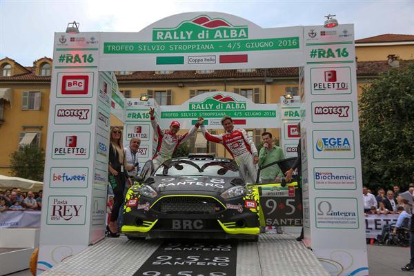 Basso e Ghione al terzo posto del Rally di Alba
