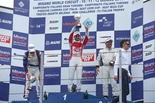 Riscatto per Brc Racing Team; Alberto Viberti vince Gara 2 del CIT