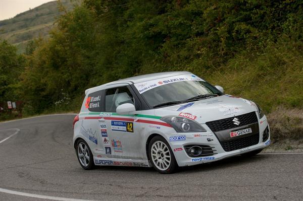 BRC Vince nel Suzuki Rally Trophy