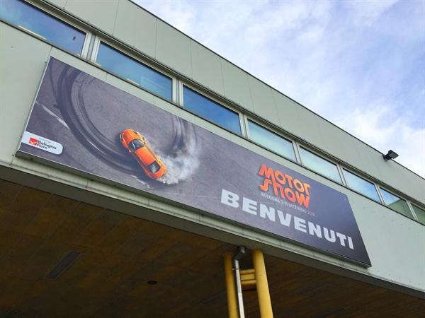 BRC al Motorshow di Bologna 2016