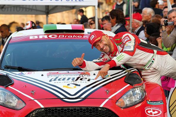 BRC e Giandomenico Basso al via dell' 85° Rallye di Monte-Carlo