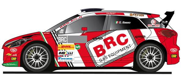 BRC Racing Team varca i confini