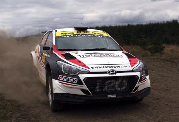 BRC Racing Team al via del British Rally Championship