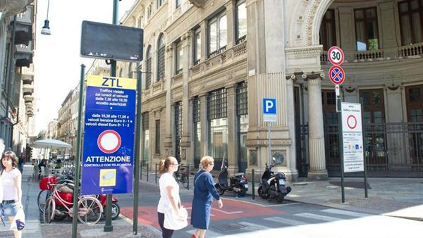 Torino: Sconti per i permessi Ztl ai veicoli ecologici