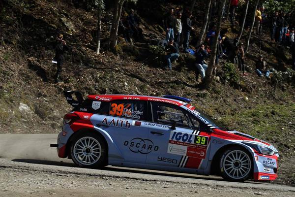 BRC Racing Team primi punti in WRC2