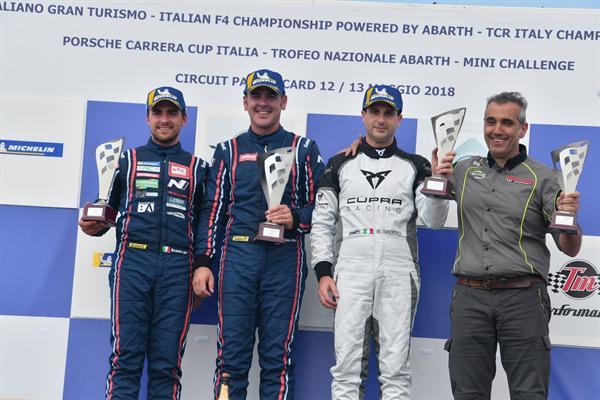 Ottima prova di BRC Racing Team nel TCR Italy