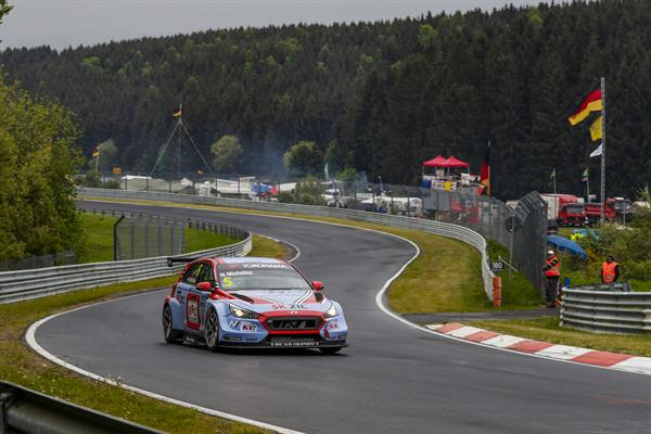 Promising pace, but problems for BRC Racing Team at Nürburgring