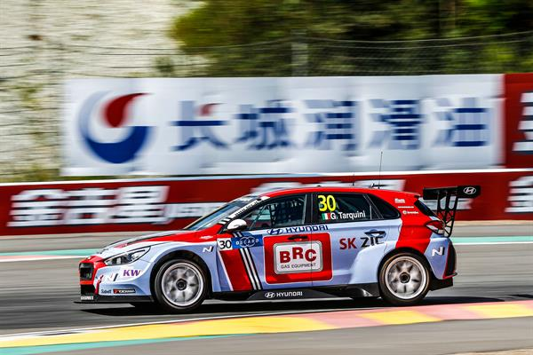 BRC Racing Team continua in Cina la lotta per il WTCR