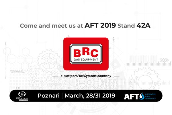 BRC at Poznan Motorshow 2019