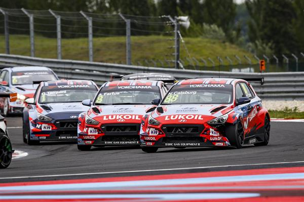 Consistent points scoring performance for BRC Racing Team at Race of Slovakia