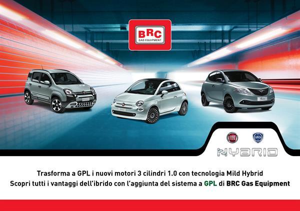 I motori Hybrid FCA trasformabili a GPL grazie a BRC