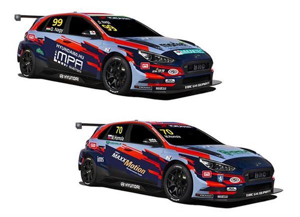 BRC Racing Team pronto all'assalto al TCR Europe con Mato Homola e Daniel Nagy