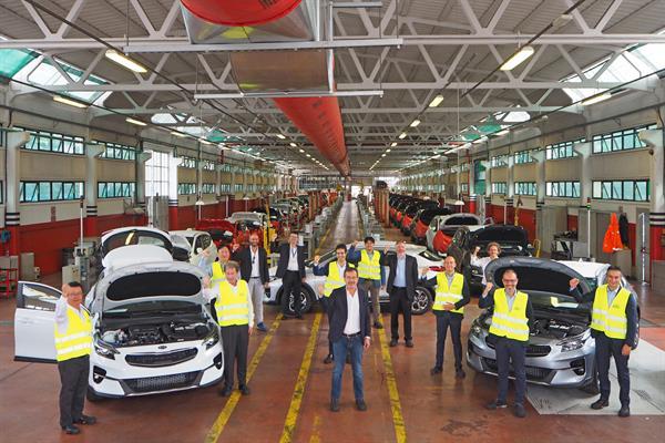 BRC e KIA Motors Italy festeggiano 24 anni di Partnership