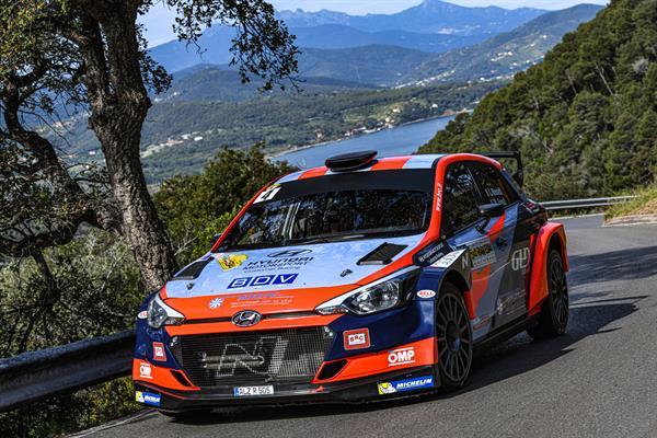 BRC Racing Team subito a podio nel Campionato Italiano WRC