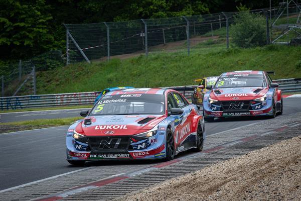 BRC Racing Team mostra il suo potenziale alla WTCR Race of Germany