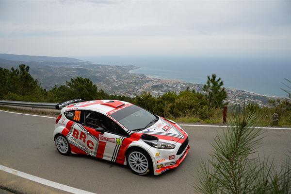 Rally di Sanremo: Giandomenico Basso in testa dopo 4 prove