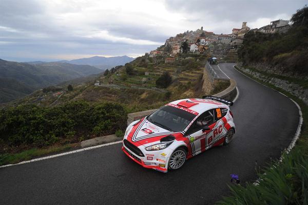 Rally di Sanremo sfortunato per Giandomenico Basso